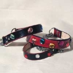 Leather Collars by Ellen